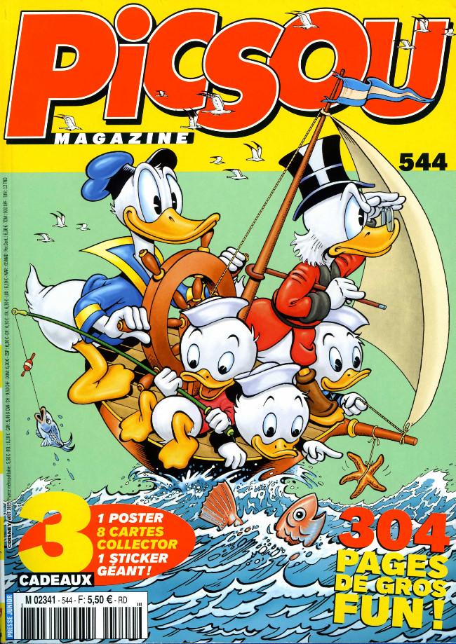 Couverture de Picsou Magazine -544- Picsou Magazine n°544
