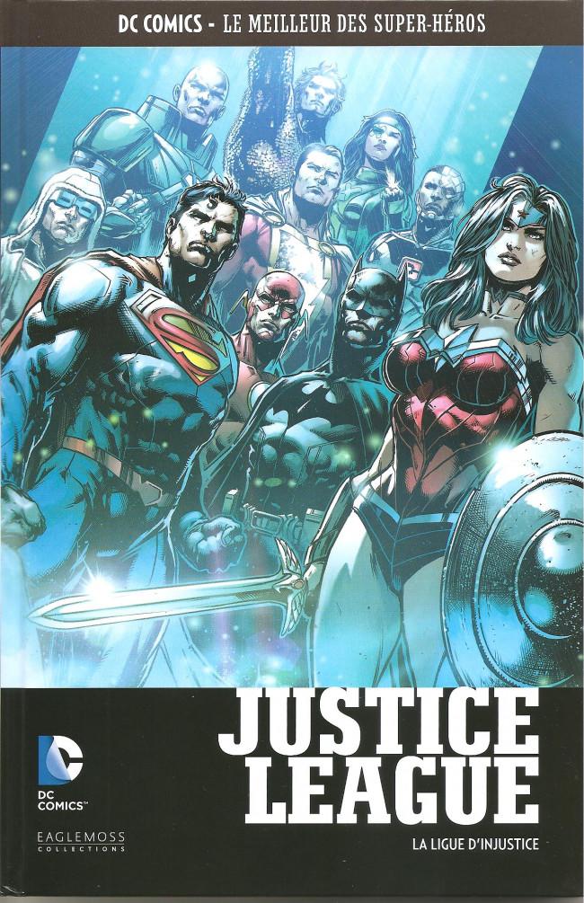 Couverture de DC Comics - Le Meilleur des Super-Héros -102- Justice League - La Ligue d'Injustice