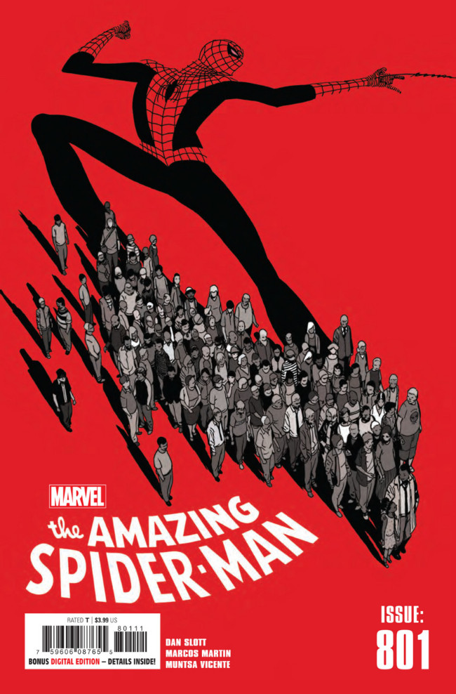 Couverture de Amazing Spider-Man (The) (2015) -801- There For You