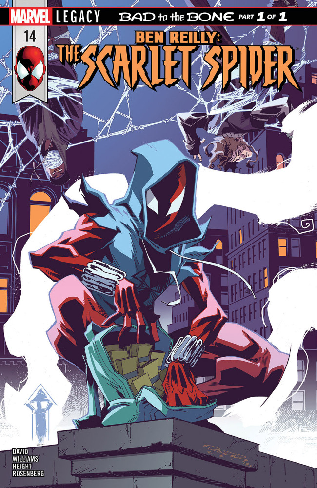 Couverture de Ben Reilly: Scarlet Spider (2017) -14- Bad to the Bone