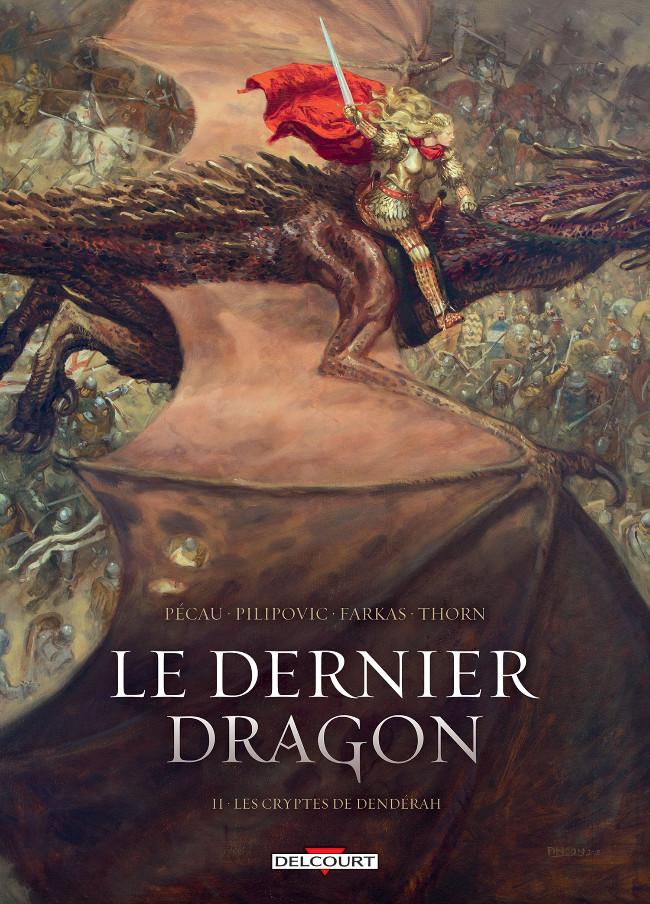 Couverture de Le dernier dragon -2- Les cryptes de Denderah