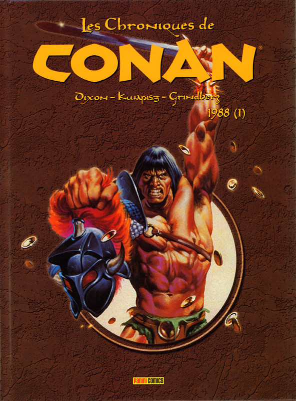 Couverture de Les chroniques de Conan -25- 1988 (I)