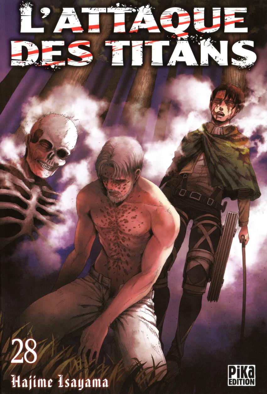 Couverture de L'attaque des Titans -28- Tome 28