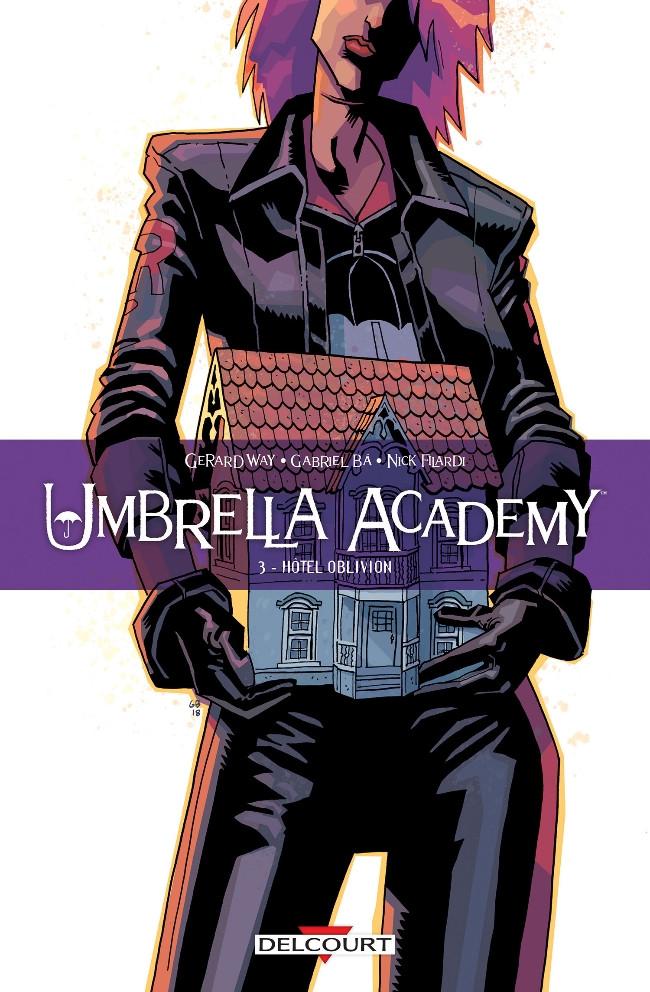 Couverture de Umbrella Academy -3- Hôtel Oblivion