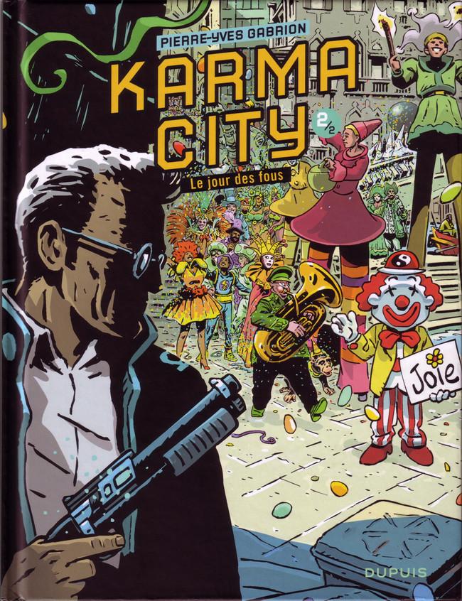 Couverture de Karma City -2- Le jour des fous