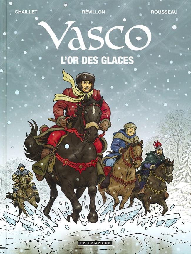 Couverture de Vasco -30- L'or des glaces