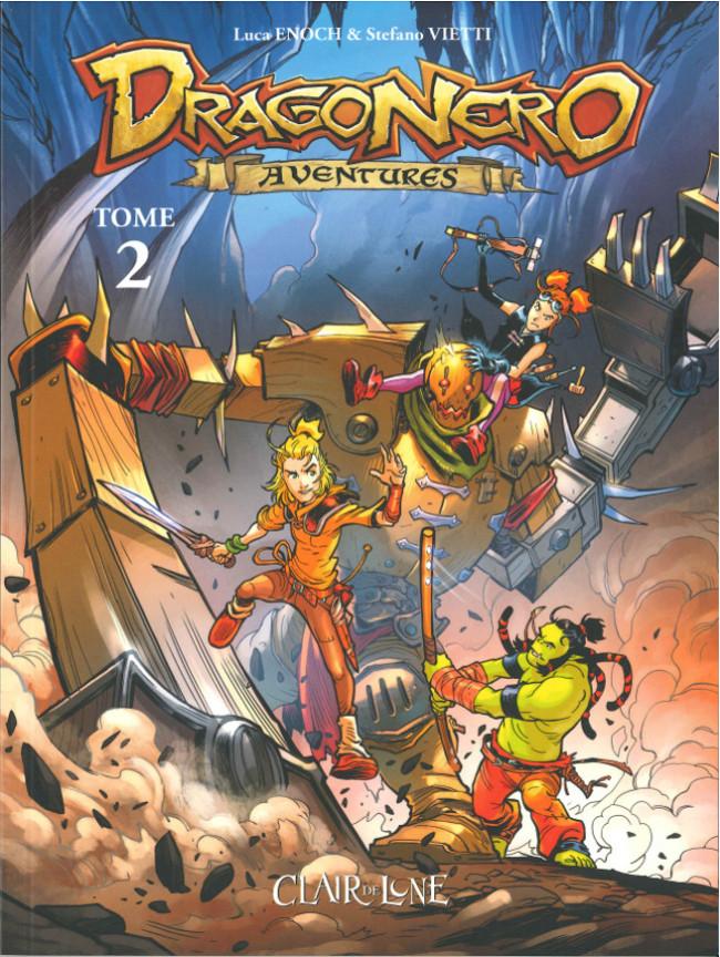 Couverture de Dragonero aventures -2- Tome 2