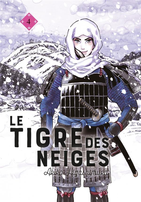 Couverture de Le tigre des neiges -4- Tome 4