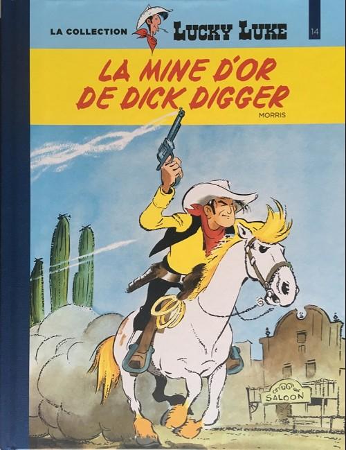 Couverture de Lucky Luke - La collection (Hachette 2018) -141- La mine d'or de Dick Digger