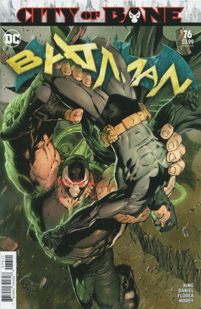 Couverture de Batman (DC Comics - 2016) -76- City of Bane, Part Two
