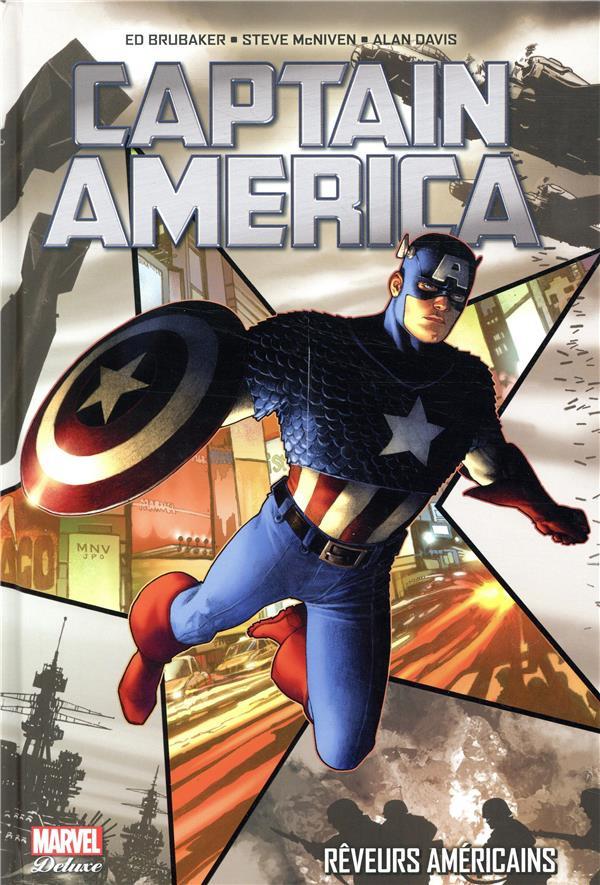 Couverture de Captain America (Marvel Deluxe - 2019) -1- Rêveurs américains