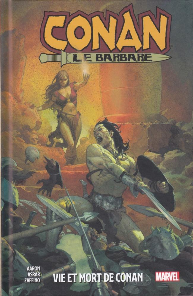 Couverture de Conan le Barbare (Panini/Marvel - 2019) -1- Vie et mort de Conan