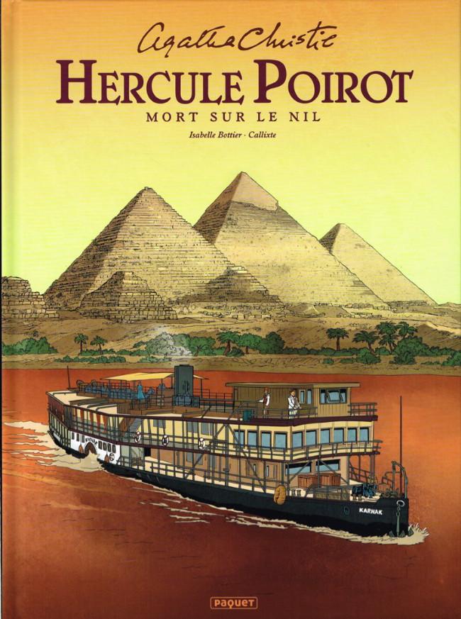 Couverture de Hercule Poirot -3- Mort sur le Nil