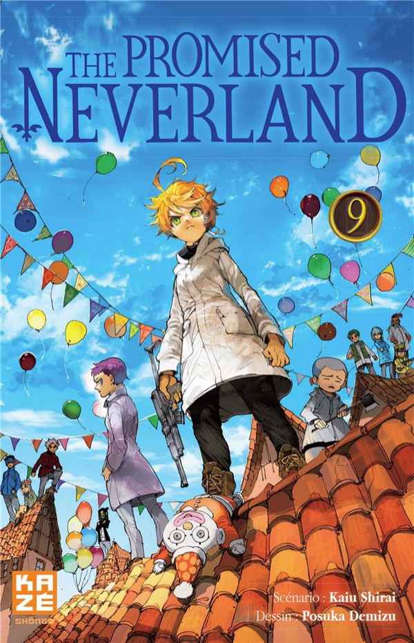 Couverture de Promised Neverland (The) -9- Tome 9