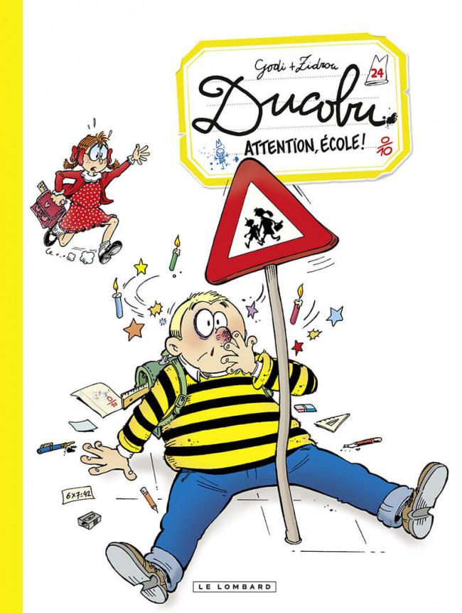 Couverture de L'Élève Ducobu -24- Attention, école !