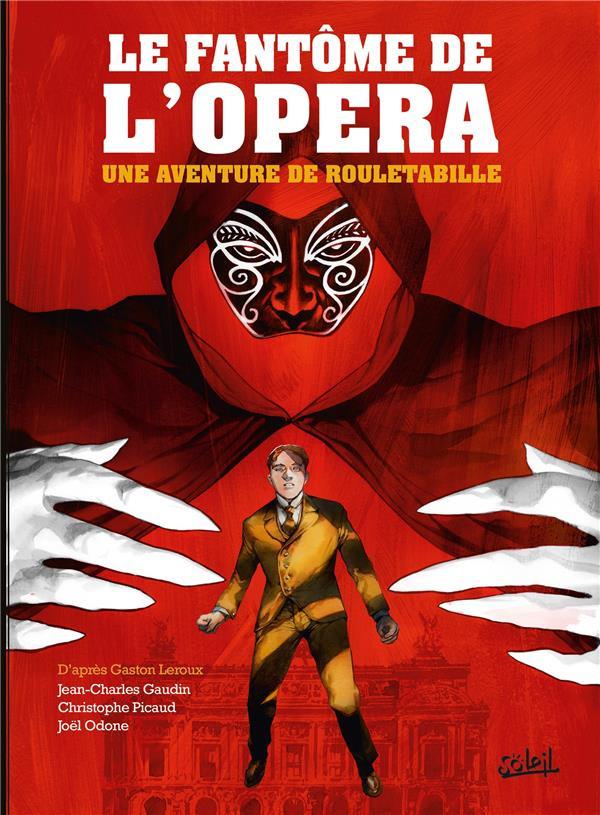 Couverture de Rouletabille (Une aventure de) -3- Le fantôme de l'opéra