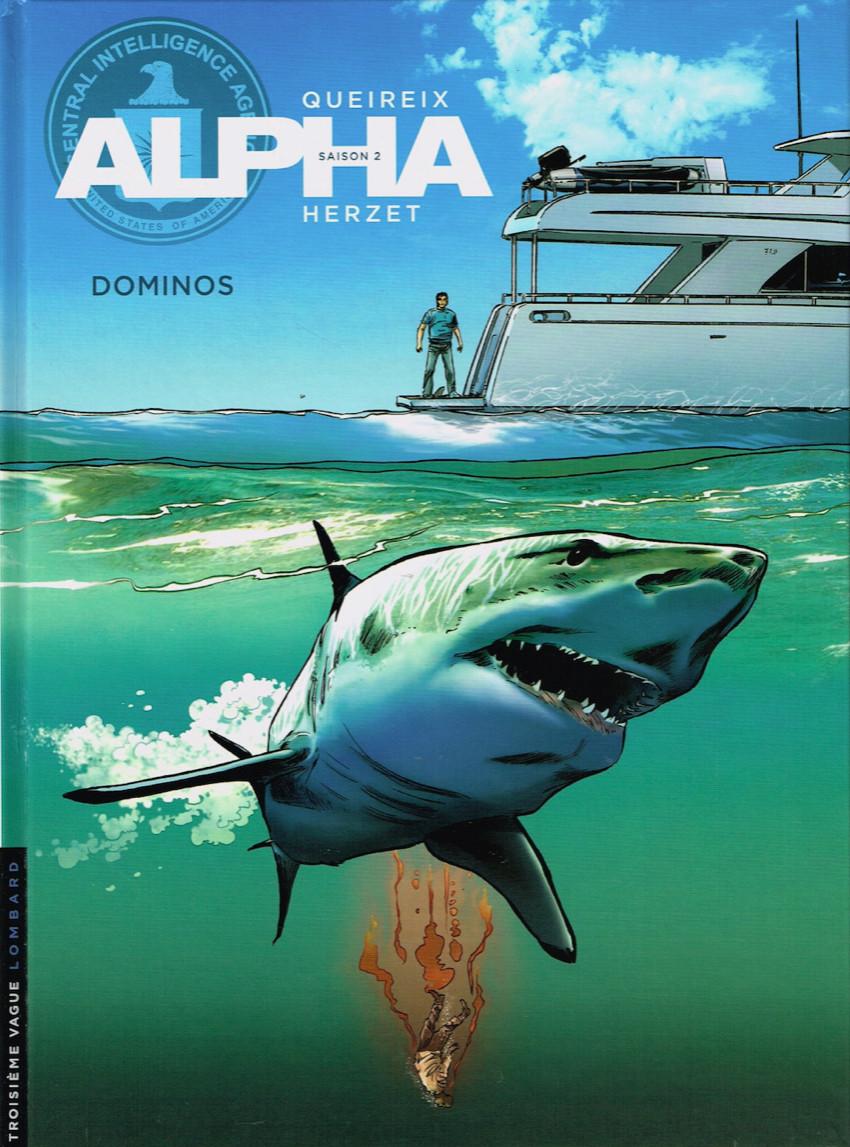 Couverture de Alpha -14- Dominos