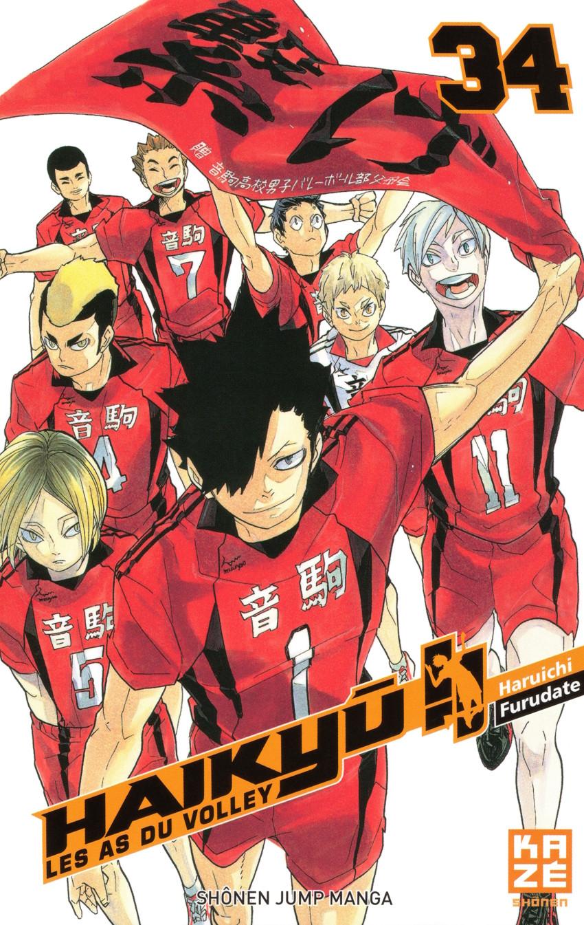 Couverture de Haikyu !! Les As du Volley -34- Tome 34