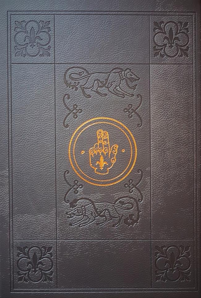 Couverture de Le roy des Ribauds -INT- Intégrale Luxe noir et blanc
