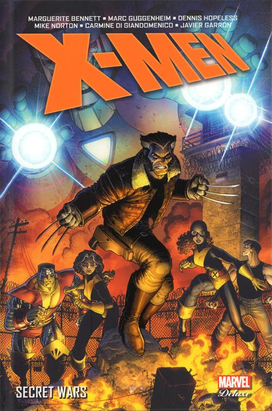 Couverture de X-Men (Marvel Deluxe) - Secret Wars