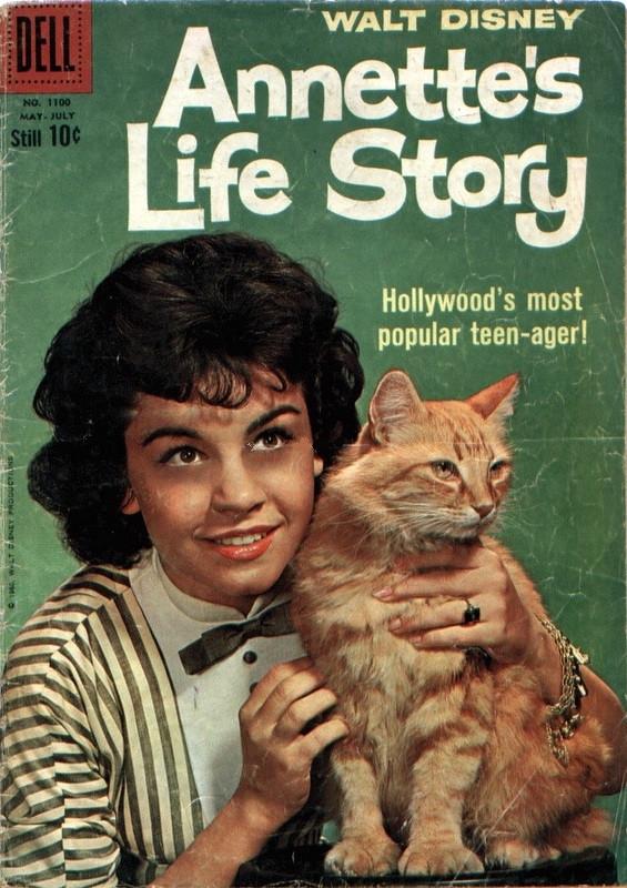 Couverture de Four Color Comics (Dell - 1942) -1100- Annette's Life Story