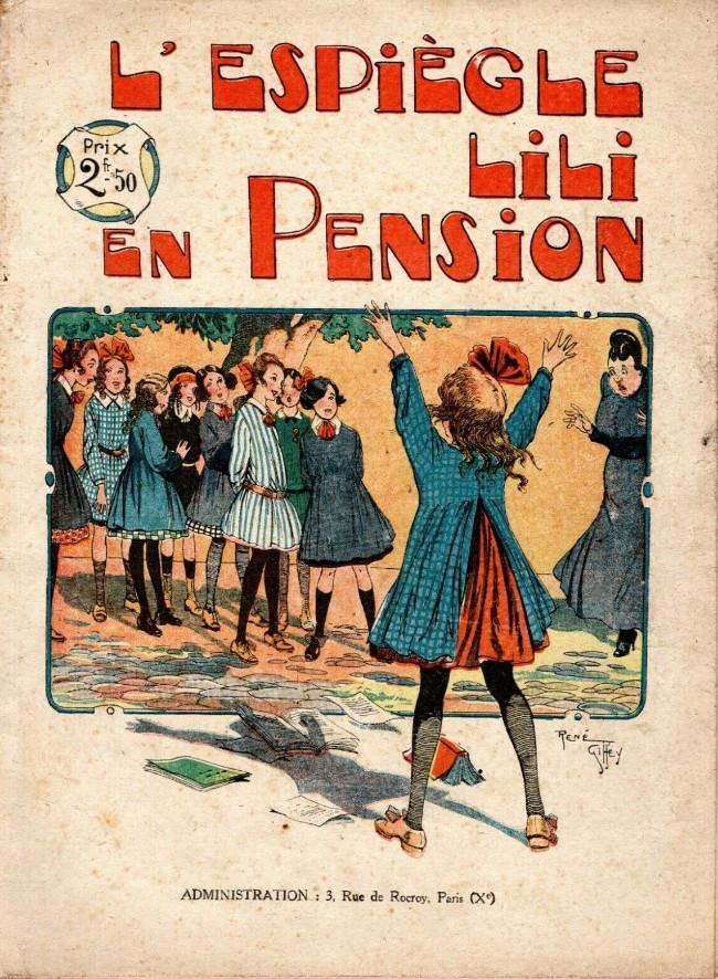 Couverture de Lili (L'espiègle) -3a1921- L'espiègle Lili en pension