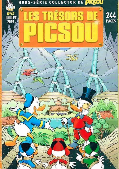 Couverture de Picsou Magazine Hors-Série -47- Les trésors de picsou : l'intégrale des histoires de don rosa, 4è partie