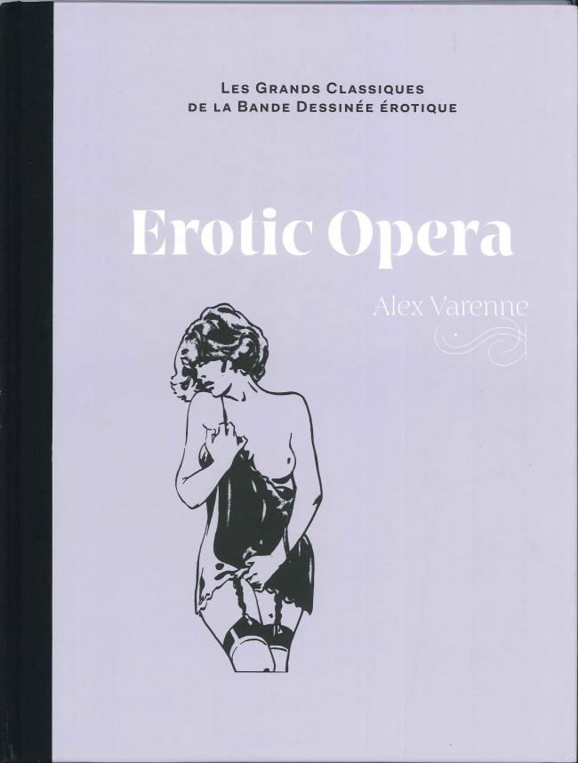 Couverture de Les grands Classiques de la Bande Dessinée érotique - La Collection -8586- Erotic opera