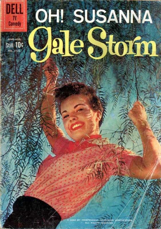 Couverture de Four Color Comics (Dell - 1942) -1105- Oh! Susanna