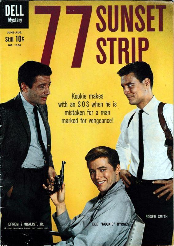 Couverture de Four Color Comics (Dell - 1942) -1106- 77 Sunset Strip