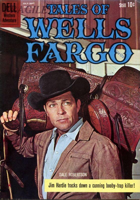 Couverture de Four Color Comics (Dell - 1942) -1113- Tales of Wells Fargo