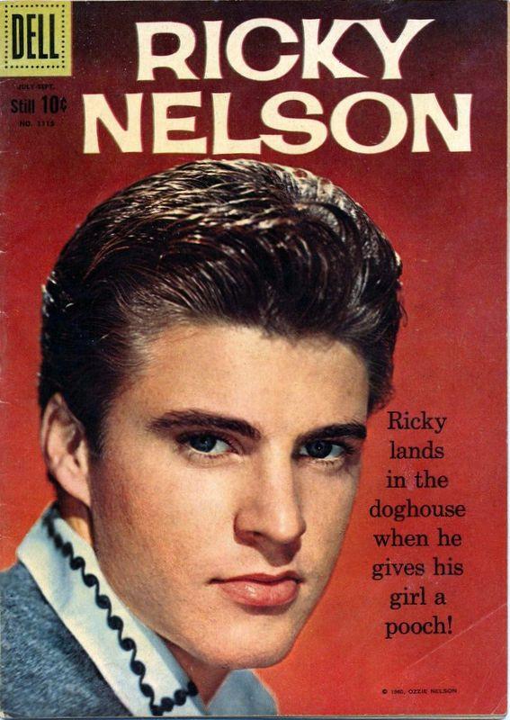 Couverture de Four Color Comics (Dell - 1942) -1115- Ricky Nelson
