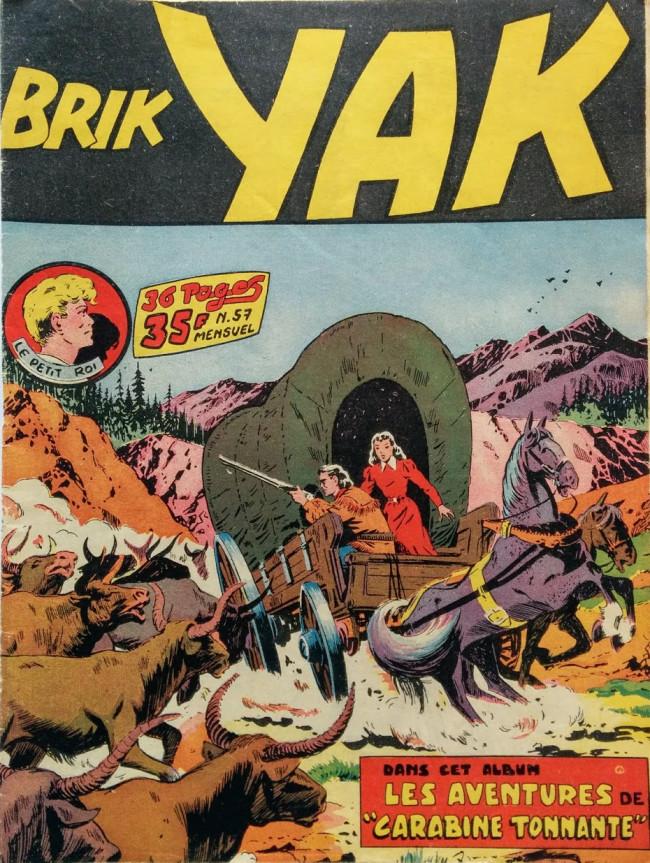 Couverture de Brik Yak -57- Les aventures de