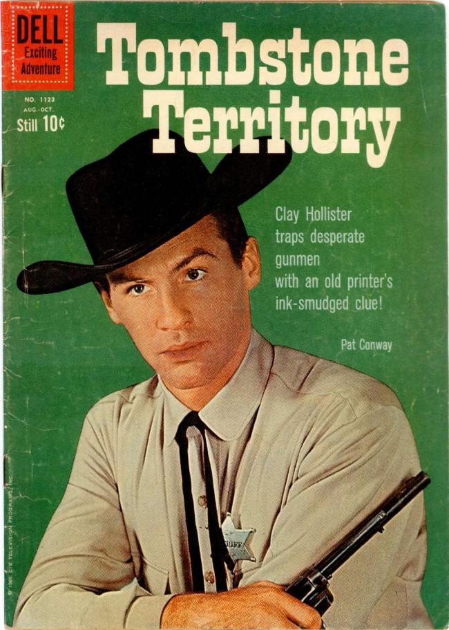 Couverture de Four Color Comics (Dell - 1942) -1123- Tombstone Territory
