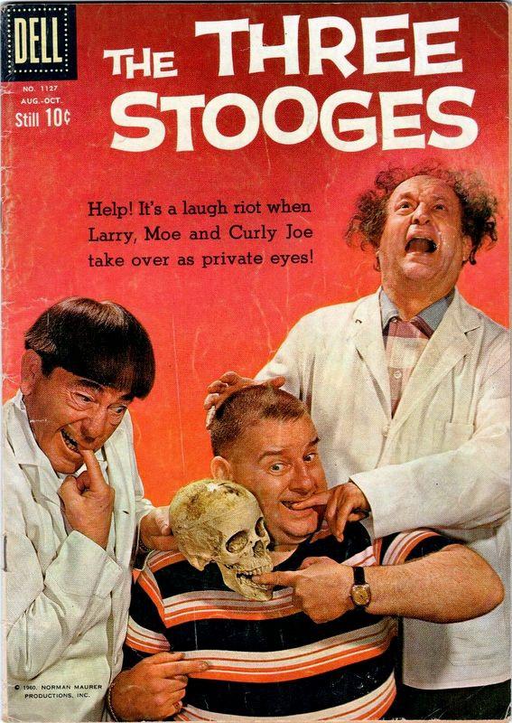 Couverture de Four Color Comics (Dell - 1942) -1127- The Three Stooges