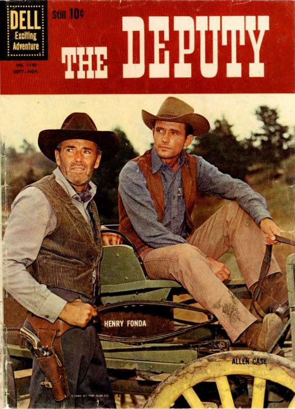 Couverture de Four Color Comics (Dell - 1942) -1130- The Deputy