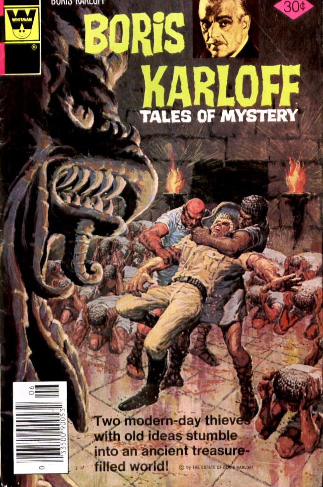 Couverture de Boris Karloff Tales of Mystery (Gold Key - 1963) -75- (sans titre)