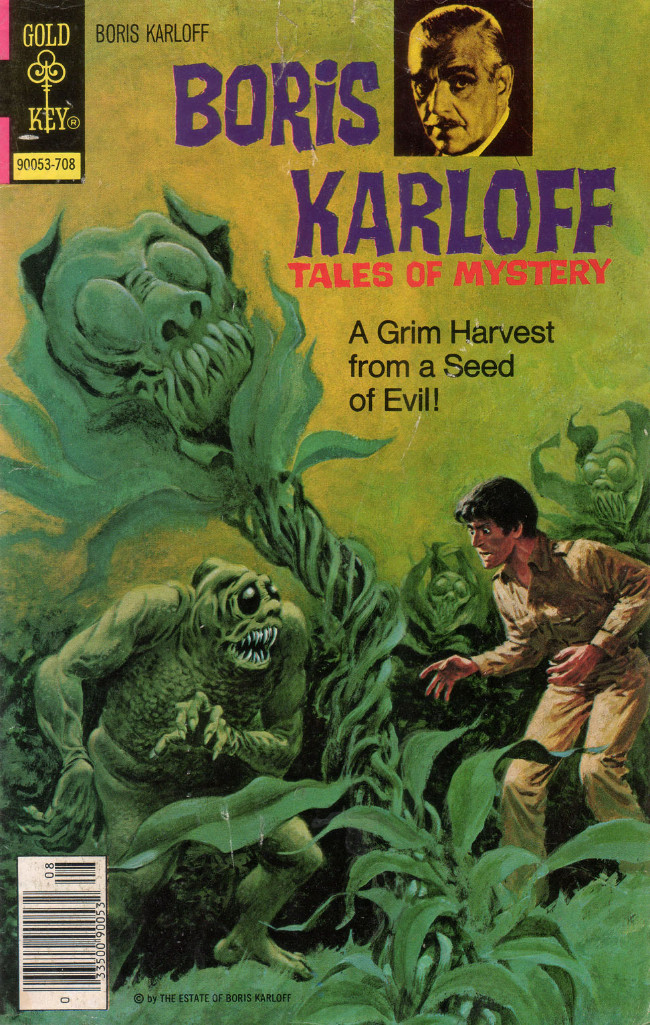 Couverture de Boris Karloff Tales of Mystery (Gold Key - 1963) -76- A Grim Harvest from a Seed of Evil!
