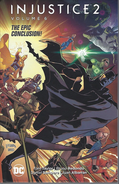 Couverture de Injustice 2 -INT06- To save the universe, they'll pay the ultimate price!