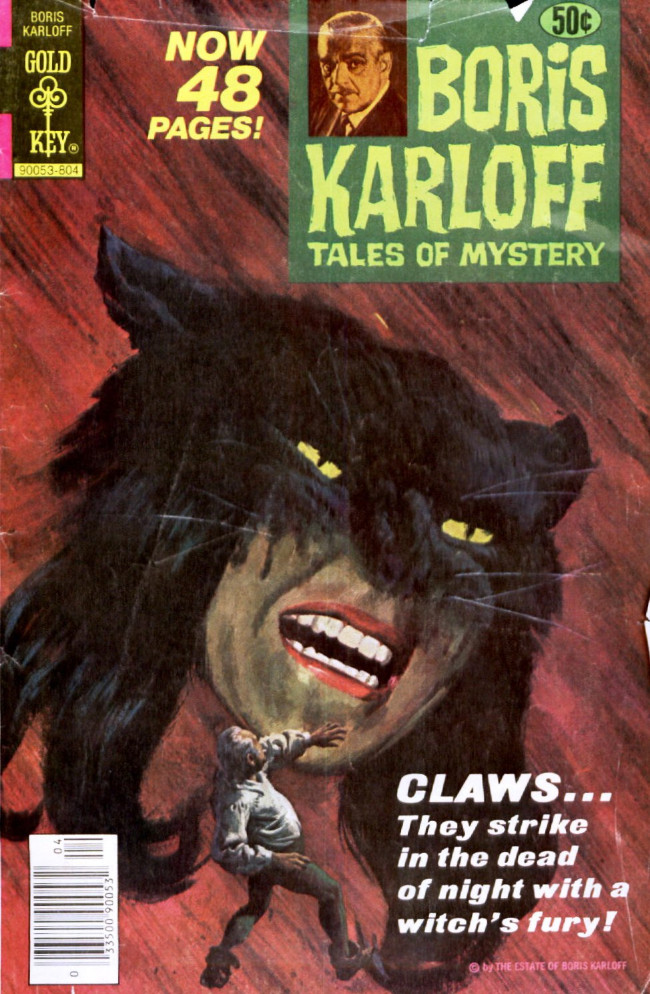 Couverture de Boris Karloff Tales of Mystery (1963) -81- Claws...
