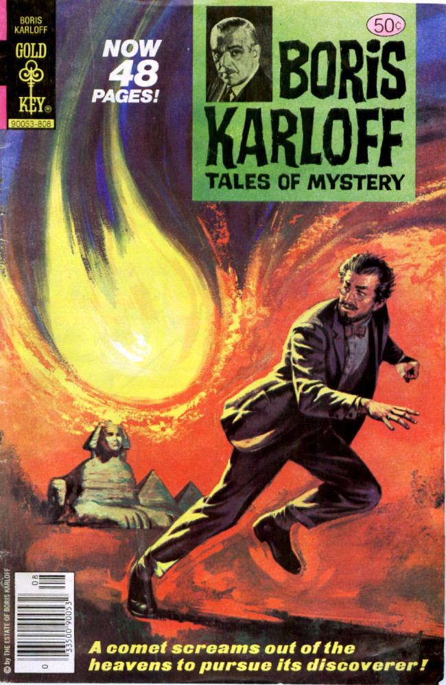 Couverture de Boris Karloff Tales of Mystery (1963) -83- A Comet Screams Out of the Heavens to Pursue Its Discoverer!