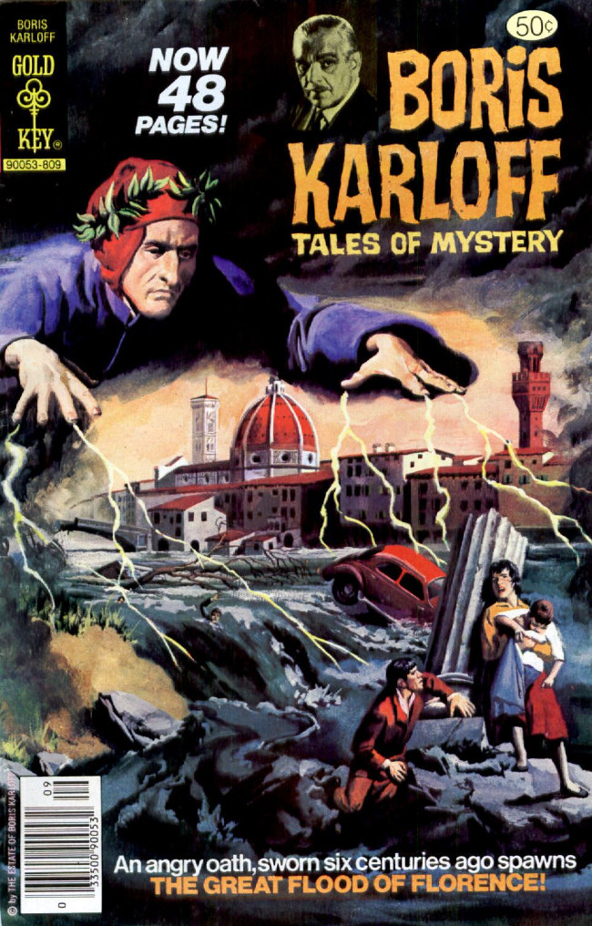 Couverture de Boris Karloff Tales of Mystery (1963) -84- The Great Flood of Florence!