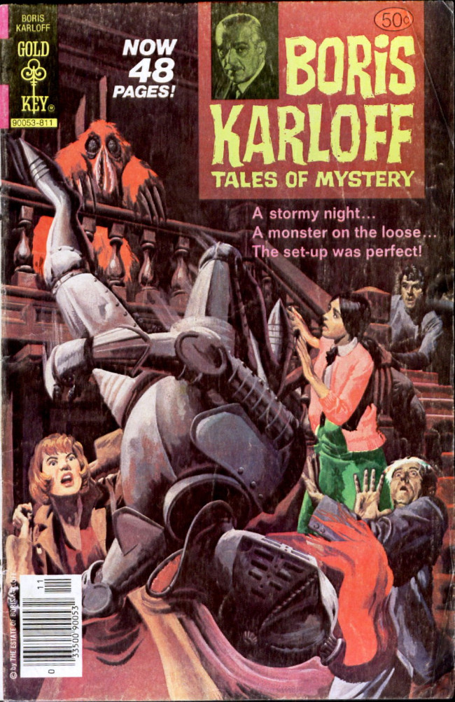 Couverture de Boris Karloff Tales of Mystery (1963) -86- A Stormy Night... A Monster on the Loose... The Set-Up Was Perfect!