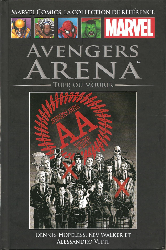 Couverture de Marvel Comics - La collection (Hachette) -13995- Avengers Arena - Tuer ou Mourir