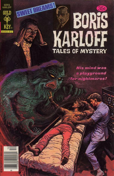 Couverture de Boris Karloff Tales of Mystery (1963) -87- His Mind Was a Playground for Nightmares!