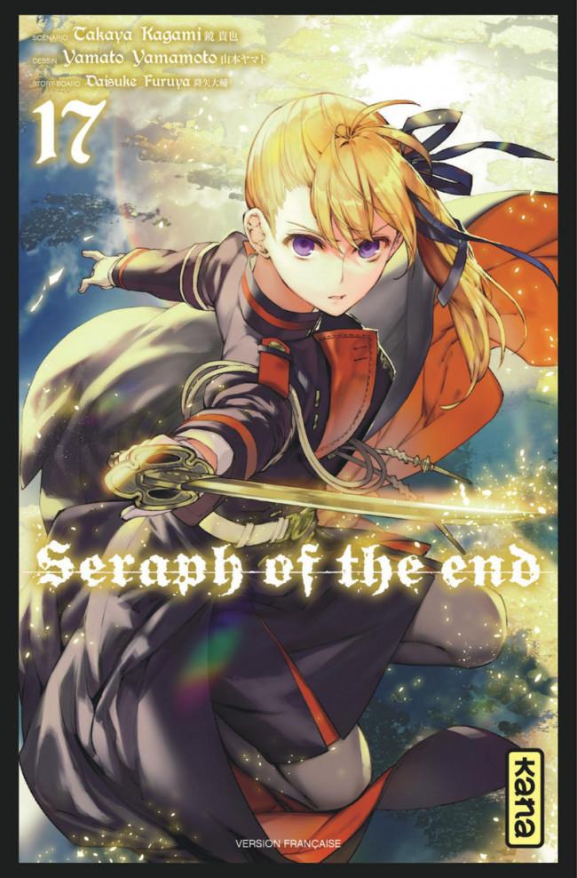 Couverture de Seraph of the End -17- Tome 17