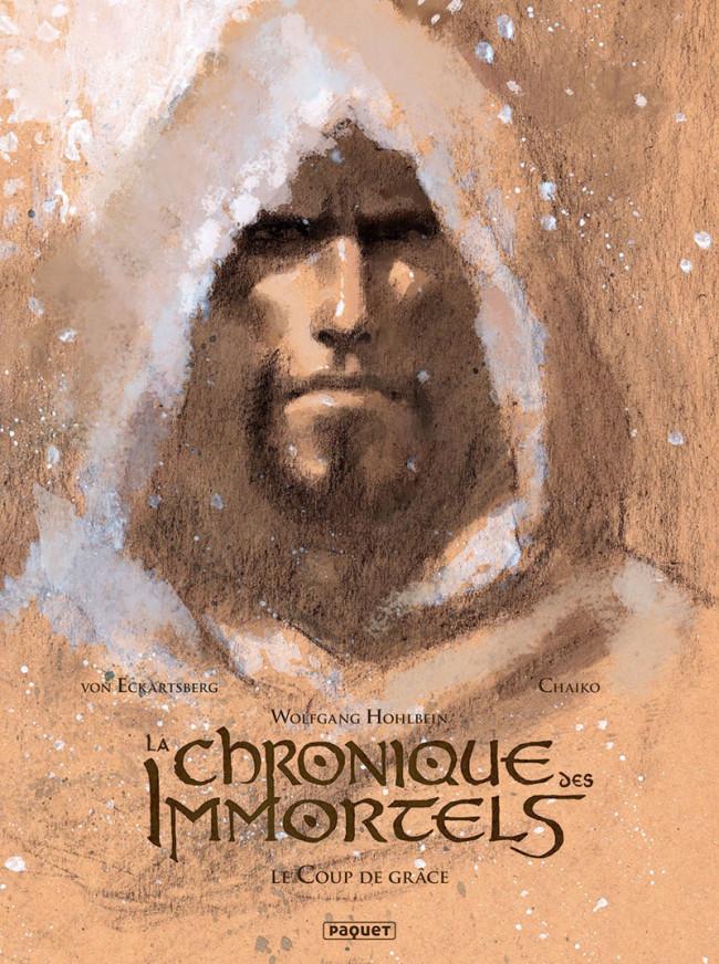 Couverture de La chronique des Immortels -INT03- Le Coup de grâce