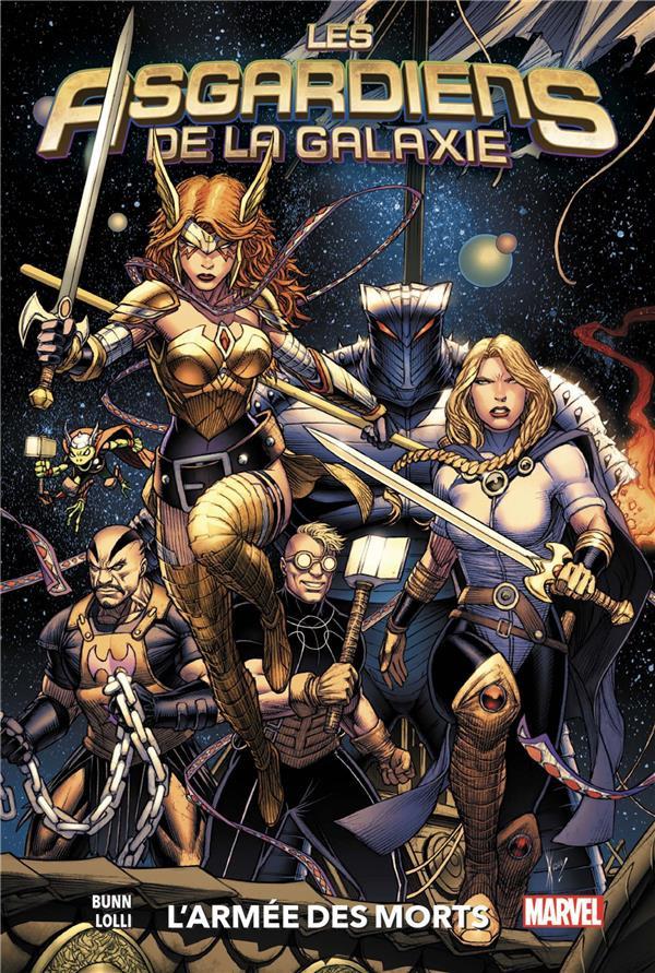Couverture de Les asgardiens de la galaxie -1- L'Armée des morts