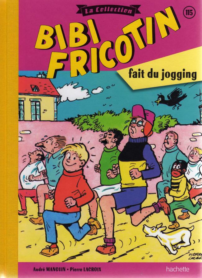 Couverture de Bibi Fricotin (Hachette - la collection) -115- Bibi Fricotin fait du jogging