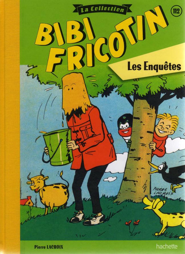 Couverture de Bibi Fricotin (Hachette - la collection) -112- Les enquêtes
